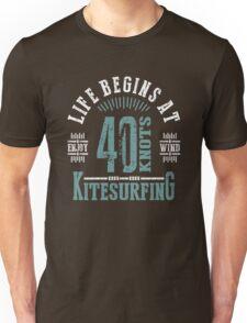 Kitesurfing 40 Knots Extreme Sport T-Shirt