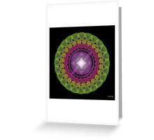 Mandala No. 21 Greeting Card