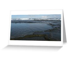 Bar Beach Rocks Greeting Card