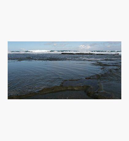 Bar Beach Rocks Photographic Print
