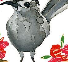 Dumetella carolinensis (Gray Catbird) by Carol Kroll