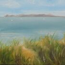 Sailing off Howth by Geraldine M Leahy