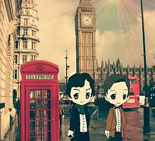 Visit in London by ObscuraNocte