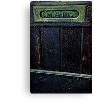 """Entry"" Canvas Print"