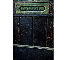 """Entry"" Photographic Print"