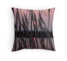 Among the Reeds... Throw Pillow