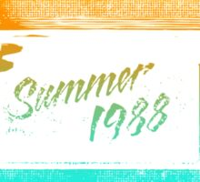 Summer of '88 - VHS Home Video Cassette Tape 1980s Retro Synth 80s Aesthetic Sticker