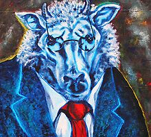 'Executive Sheep' by Jerry Kirk