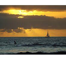 Mauritius Sunset Photographic Print