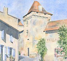 Le Vieux Château, Varaignes, France by ian osborne