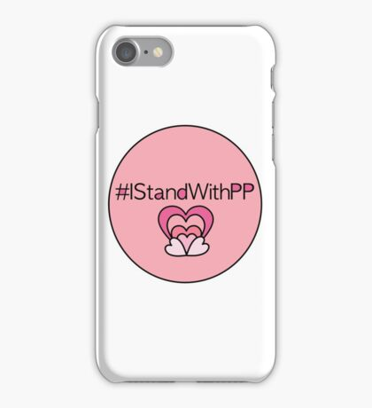 #IStandWithPP iPhone Case/Skin