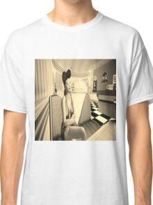 Retro diner girl Classic T-Shirt