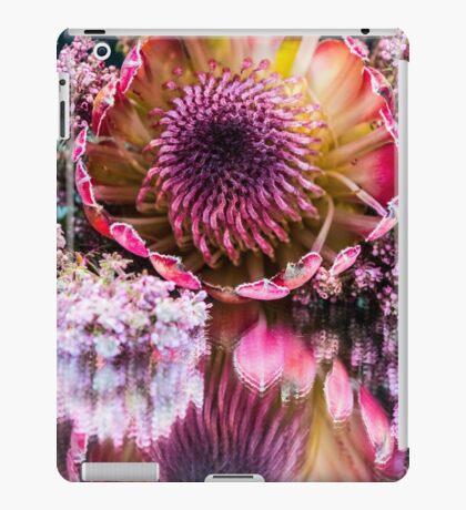 Mighty Protea Flower Mirror Image iPad Case/Skin