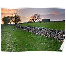 Dales Sunset Poster