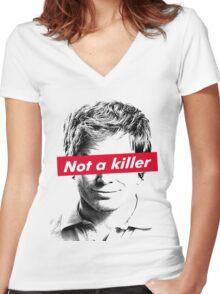 The killer Women's Fitted V-Neck T-Shirt