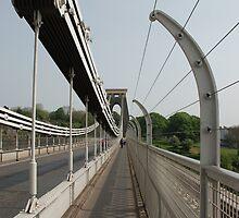 Clifton Suspension Bridge by Celia Strainge