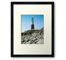 Portland Lighthouse, Dorset Framed Print