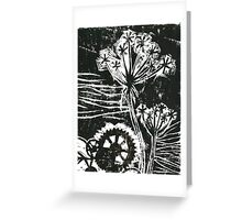 Gearing to Blow Greeting Card