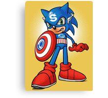 Captain Sonic Canvas Print