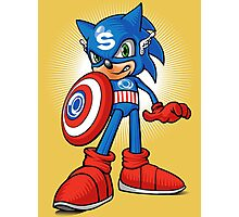 Captain Sonic Photographic Print