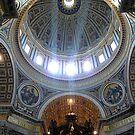 Cupola, St Peter's Basilica  #2 by Braedene