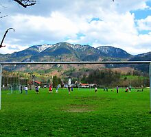 Cold Soccer on the Mountains by Daidalos