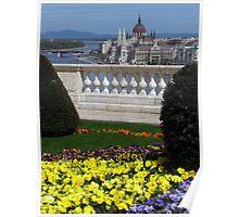 Royal Palace Gardens & Parliament Poster