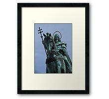 King Stephen, Fisherman's Bastion Framed Print