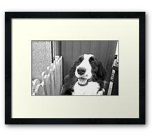 Tickled Tina Framed Print