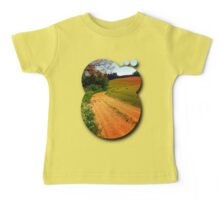 Hiking trail through springtime nature Baby Tee