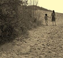 Brother & Sister (sepia) by joeycastro