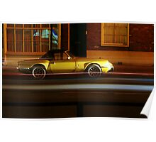 Triumph Spitfire Light Trail  Poster