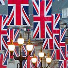 London. Regent Street. Royal Wedding Flags. (Alan Copson ©) by Alan Copson
