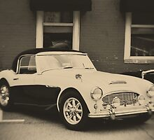 Vintage 1959 Austin Healey 100-6 by A.R. Williams