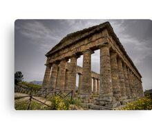 Il tempio di Segesta Canvas Print