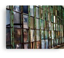 Warehouse Windows Canvas Print