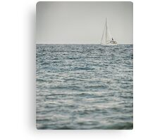 Sailing on the Gulf Canvas Print