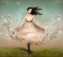 Butterfly Dress by ChristianSchloe