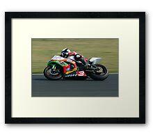Michael Dunlop - Bishopscourt 2011 Framed Print