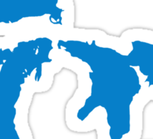 The Great Lakes Sticker