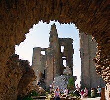 Corfe Castle Arch by Dean Messenger