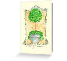 Fleurs Pour Jeanne Greeting Card