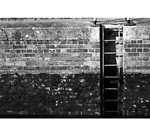 Ladder in the Lock Photographic Print