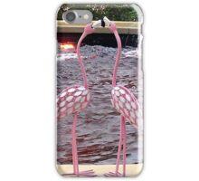 Pink Flamingos iPhone Case/Skin