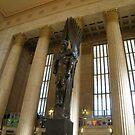 Sculpture, Philadelphia 30th Street Train Station by lenspiro