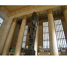 Sculpture, Philadelphia 30th Street Train Station Photographic Print