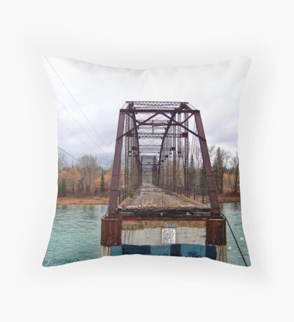 A Bridge Too Far Throw Pillow