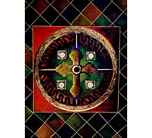 The CROSS  (from Sacred Medallion series) Photographic Print