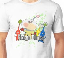 I Main Olimar - Super Smash Bros. Unisex T-Shirt