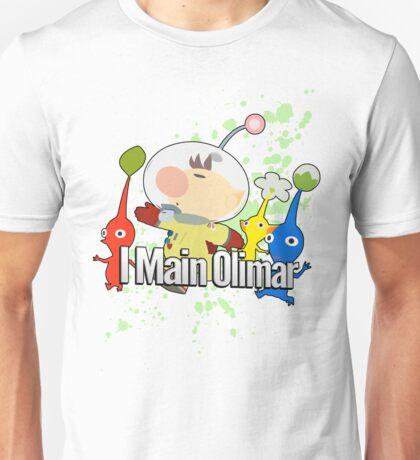 I Main Olimar - Super Smash Bros. Unisex T-Shirt